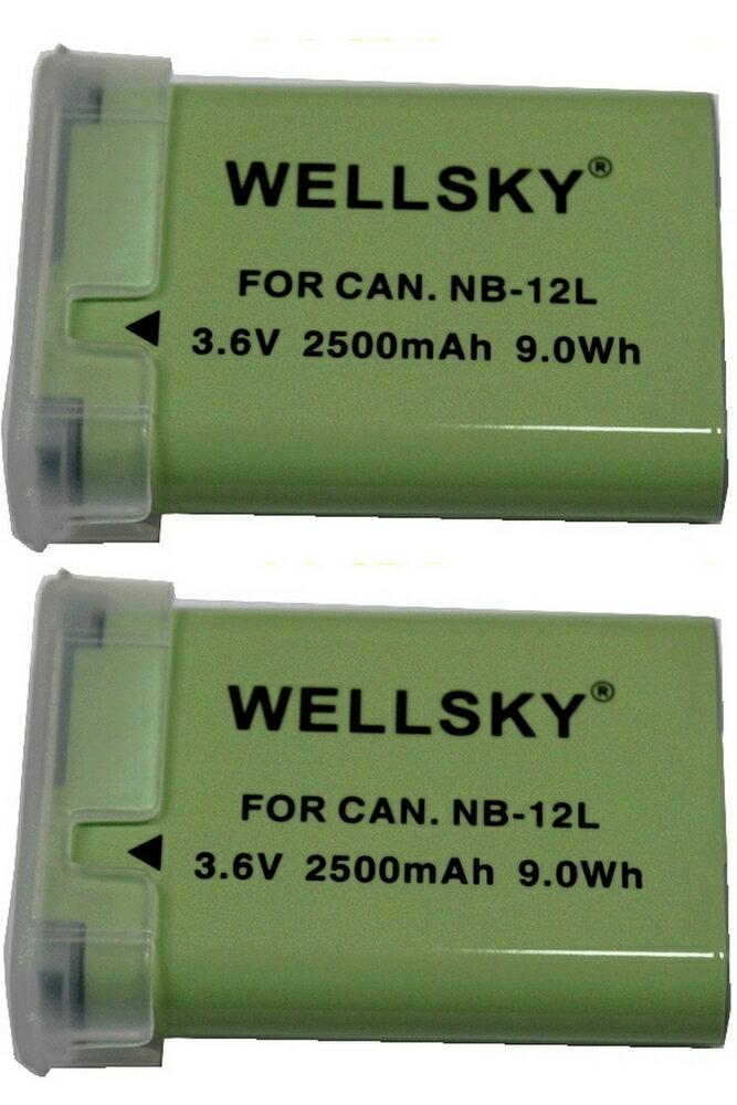 デジタルカメラ用アクセサリー, バッテリーパック NB-12L 2 2500mAh Canon PowerShot G1 X Mark II PowerShot N100