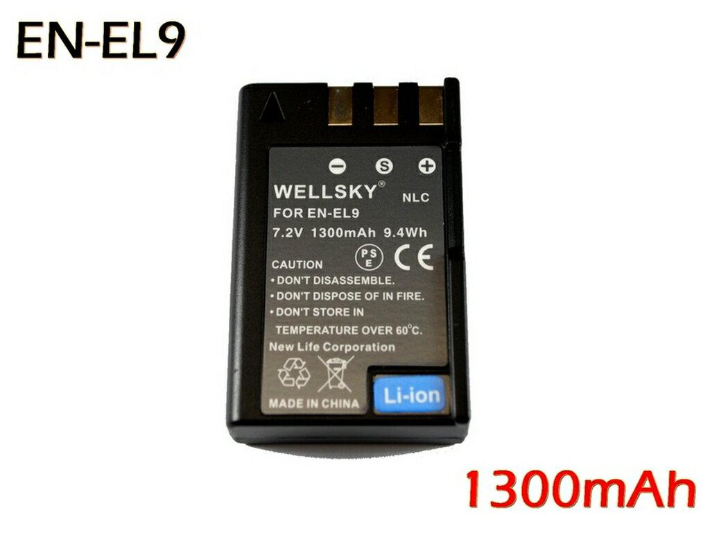 デジタルカメラ用アクセサリー, バッテリーパック EN-EL9a EN-EL9 1300mAh NIKON D40X D3000 D5000 D60 D40 MH-21