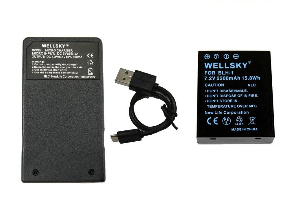 カメラ・ビデオカメラ・光学機器用アクセサリー, 電源・充電器 BLH-1 2200mAh 1 USB Type C BCH-1 1 2 OLYMPUS OM-D E-M1 Mark II E-M1 Mark III