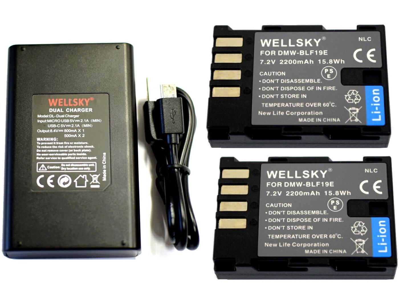 デジタルカメラ用アクセサリー, バッテリーパック DMW-BLF19 2 DMW-BTC10 DMW-BTC13 USB Type C 1 3 Panasonic LUMIX DC-GH5 DC-GH5s DC-G9
