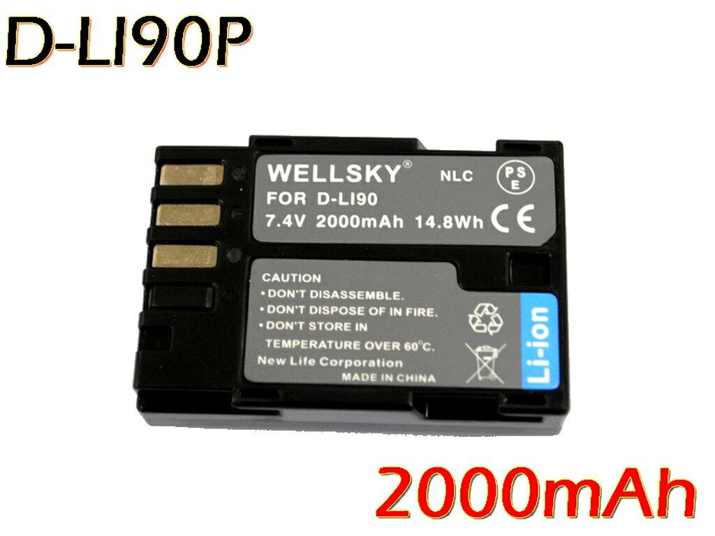 デジタルカメラ用アクセサリー, バッテリーパック D-Li90 D-Li90P PENTAX K-7 K-1 D-BG6 D-BG4 K-5 645D K-01 K-5 II K-5 Iis K-3 K-3 II 645 645Z
