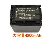 NP-FV100 互換バッテリー 4800mAh
