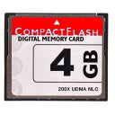 東芝製チップ 採用オリジナルブランド Compact Flash CFカード コンパクトフラッシュ 4GB 200X 200倍速 UDMA対応