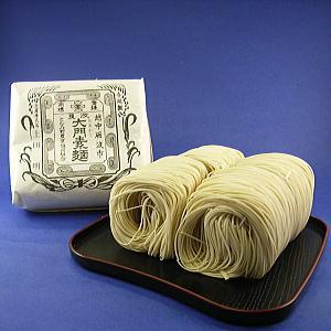 【送料無料】大門そうめん(ダンボール箱入)20個!江戸時代から伝わる富山の歴史ある素麺。無漂...