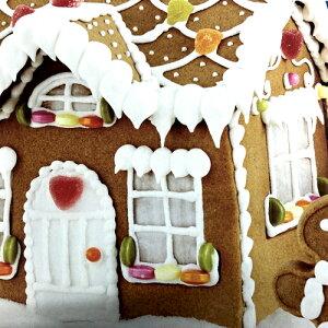 訳ありGingerbread House お菓子の家キット 1.3kgコストコ クリスマス ジンジャーブレッドハウスおかしの家 クッキー 手作りパーティー【smtb-ms】0589379