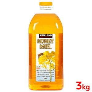 コストコ ハチミツ 3kg カークランドシグネチャー 大容量Kirkland Signature Honey 3kgカナダ産 ハチミツ はちみつ 蜂蜜パンケーキ ホットケーキ ヨーグルト【smtb-ms】015241