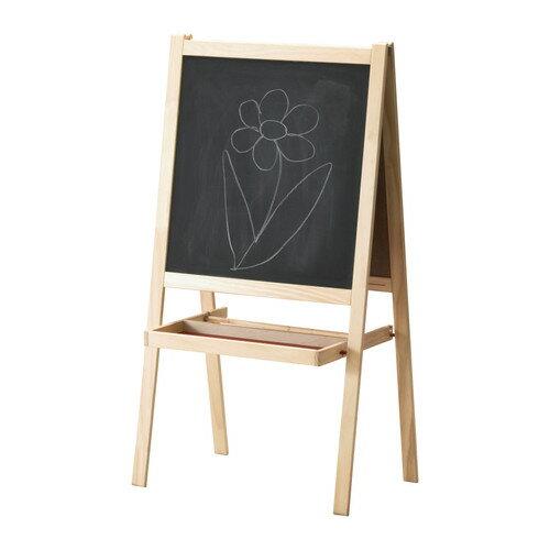 イケア IKEA MALA 子供玩具 イーゼルソフトウッド ホワイトおもちゃ 遊具 ホワイトボード 黒板 お絵かき【smtb-ms】30167852
