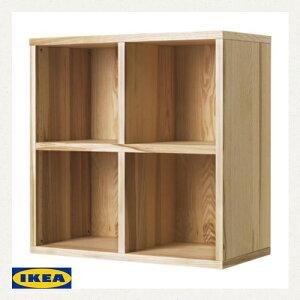 IKEA TRABY シェルフユニット 80×80 突板 イケア トレービー アッシュ材 突き…
