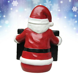 サンタ黒板チョークボードオブジェサンタクロースX'smasクリスマスChalkboardSanta【smtb-ms】915604