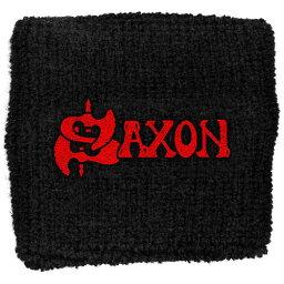 【SAXON】サクソン「LOGO」リストバンド