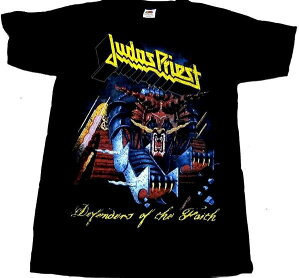 【JUDAS PRIEST】ジューダスプリースト「DEFENDERS OF THE FAITH」Tシャツ