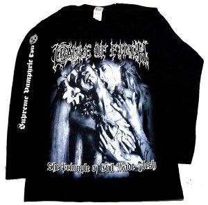 【CRADLE OF FILTH】クレイドル オブ フィルス「THE PRINCIPLE OF EVIL MADE FLESH」ロングスリーブシャツ