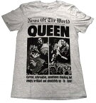 【QUEEN】クイーン「NEW OF THE WORLD 40TH」Tシャツ