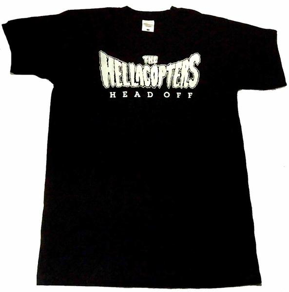 【HELLACOPTERS】ヘラコプターズ「HEAD OFF」Tシャツ