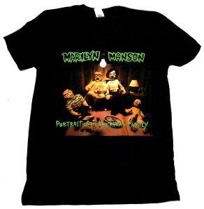 【MARILYN MANSON】マリリンマンソン「AMERICAN FAMILY」Tシャツ