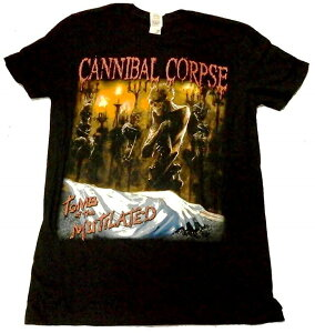【CANNIBAL CORPSE】カニバルコープス「TOMB OF THE MUTILATED#2」Tシャツ