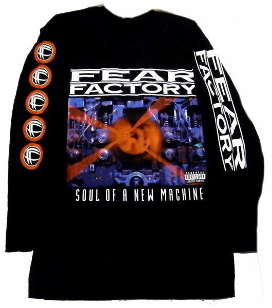 トップス, Tシャツ・カットソー FEAR FACTORYSOUL OF A NEW MACHINE