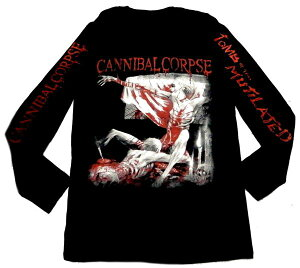 【CANNIBAL CORPSE】カニバルコープス「TOMB OF THE MUTILATED」ロングスリーブシャツ