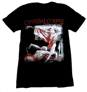 【CANNIBAL CORPSE】カニバルコープス「TOMB OF THE MUTILATED」Tシャツ