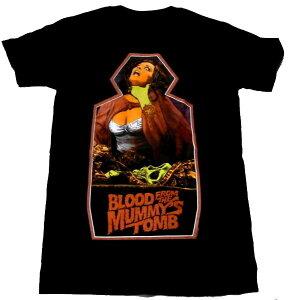 【BLOOD FROM THE MUMMY'S TOMB】王女テラの棺 オフィシャルTシャツ