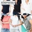 【送料無料】エアロポステール AEROPOSTALE ]レディース 12色 ポロシャツ 半袖POLO 鹿の子 A87 Pique Polo 【あす楽対応】クールビズ【楽ギフ_包装】