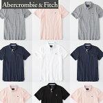 Abercrombie&Fitchアバクロンビーアンドフィッチ正規品メンズストレッチアイコン刺繍半袖ポロシャツStretchIconPolo124-227-0762並行輸入インポートブランド海外買い付け正規