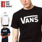 Vansプリント半袖丸首TシャツVansOffTheWall'ClassicLogo'Men'sTShirt黒BLACKブラックVN-0LFLY28【バンズVANS】ヴァンズメンズインポートブランド【通販】【あす楽対応】