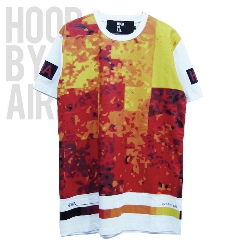 トップス, Tシャツ・カットソー HOOD BY AIR T HOOD BY AIR HBA-2 -TEMP PIXELS-