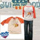 JUNK FOOD ジャンクフード Lady レディース Tシャツ COCOA セレブ ブランド セール 七分袖 ロンT 半袖