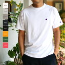 Champion チャンピオン メンズ○新作○CロゴメンズTシャツ(M L XL)半袖Tシャツ 【メール便可】