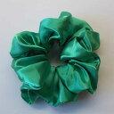 GLHA-019/グリーンレーンアイドルカラーヘアーアクセサリーシュシュ(グリーン) ファッション/おしゃれ/まとめ髪/ポニー/雑貨 …