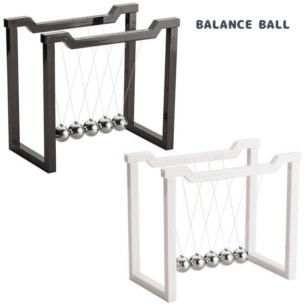 イシグロ 置物 18217-19 バランスボール フレーム L W17.9×H15.8×D10cm インテリア BALACE BALL WAVE バランス ボール スイング 癒し リラクゼーション