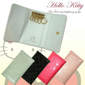 □■HK26-6PK・HelloKitty キーケース-ピンク/ハローキティ/財布/名刺■□