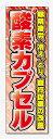 のぼり旗 酸素カプセル (W600×H1800)