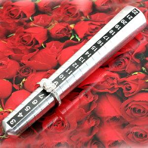 プロ仕様・リングサイズ棒/ポケットサイズ(3号〜22号用)◆彼女の指輪サイズもこっそり測れちゃう♪◆【送料無料】※ラッピングの対応はできません。
