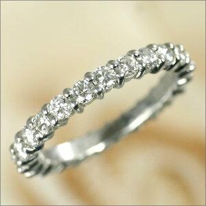 Ptダイヤフルエタニティリング[1.6ct前後]*結婚指輪(マリッジリング)としても人気です!*【送料無料】【野球_日本一2007シーズン】