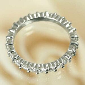 Ptダイヤフルエタニティリング[1.6ct前後]*結婚指輪(マリッジリング)としても人気です!*【特価ダイヤモンド】【楽ギフ_包装】