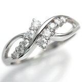 スイートテン プラチナダイヤモンド 10周年 結婚記念日ダイヤモンドリング[0.3ct]《ダイヤ:カラーD-F / クラリティVVS1-VS1 / カットEX-VG》【輝き保証!】