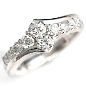 輝き保証!Ptダイヤ【スイートテン】リング[1.0ct]<カラーFGクラリティVS〜SI1>*結婚指輪(マリッジリング)としても人気です!*【特価スイートテンダイヤモンド】【楽ギフ_包装】【smtb-m】