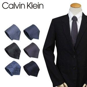 Calvin Klein ネクタイ シルク カルバンクライン メンズ CK ビジネス 結婚式