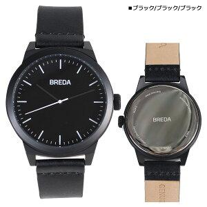 BREDAブレダ腕時計43mmメンズ時計ランドRAND8184Hブラック[4/18新入荷][175]