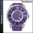 TENDENCE テンデンス 腕時計 SLIM POP スリムポップ 47mm TG131002 ウォッチ 時計 パープル PURPLE 3H メンズ レディース