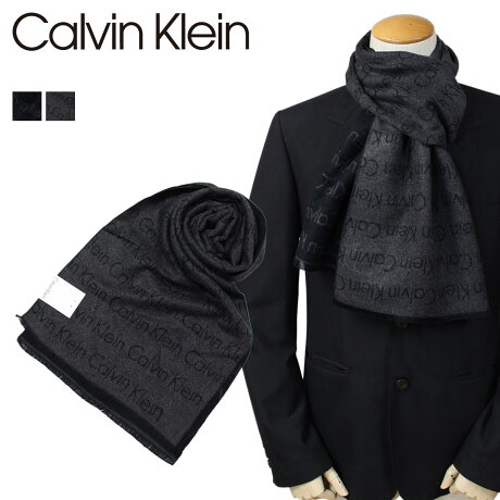 Calvin Klein マフラー メンズ カルバンクライン CK ビジネス カジュアル HKC73660 [1712]