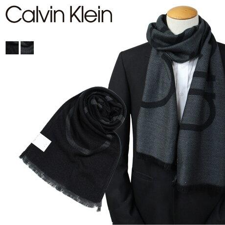Calvin Klein マフラー メンズ カルバンクライン CK ビジネス カジュアル HKC73621 [1712]