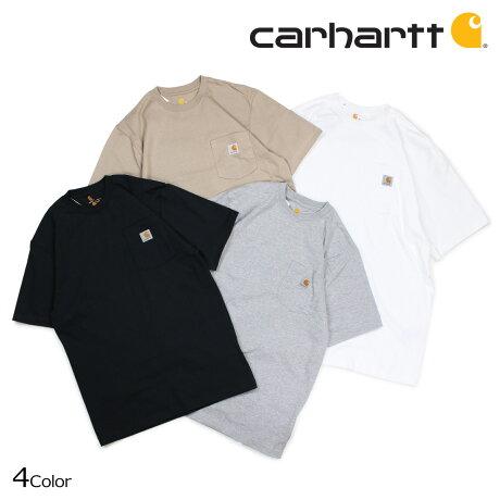 カーハート carhartt Tシャツ メンズ 半袖 WORKER POCKET SS T-SHIRTS K87 [1/5 追加入荷]