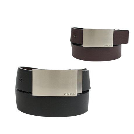 カルバンクライン Calvin Klein ベルト メンズ リバーシブル レザー REVERIBLE BELT ブラック ブラウン 7539296 [予約商品 1/12頃入荷予定 新入荷]