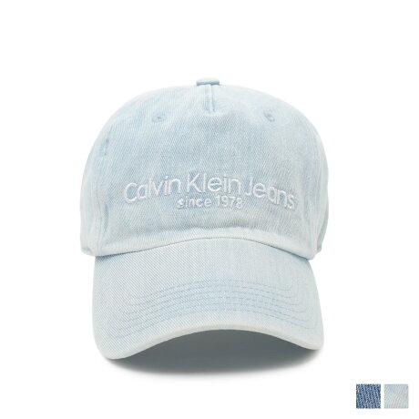 カルバンクライン ジーンズ Calvin Klein Jeans キャップ 帽子 メンズ レディース DENIM LOGO CAP ブルー 4500 [12/17 新入荷]