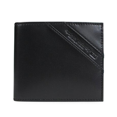 ディーゼル 財布 DIESEL 二つ折り メンズ HIRESH S ブラック X05081 P1507 [12/17 新入荷]