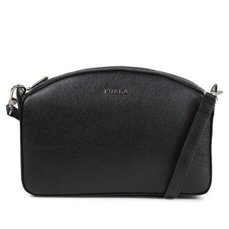 フルラ FURLA バッグ ショルダーバッグ レディース GISELE SHOULDER BAG ブラック 975359 [12/25 新入荷]