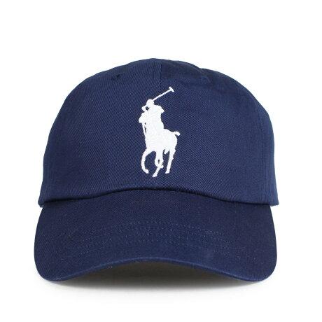 ポロ ラルフローレン POLO RALPH LAUREN キャップ 帽子 メンズ レディース コットン BIG PONY CHINO BASEBALL CAP ネイビー 710673584013 [1/15 新入荷]